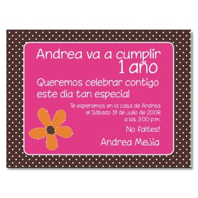 ec0001 - E-card Birthday invitation