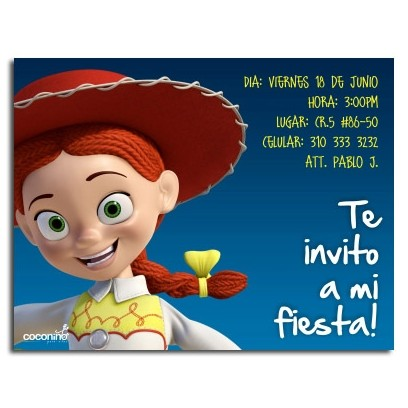 Invitaciones de cumpleaños