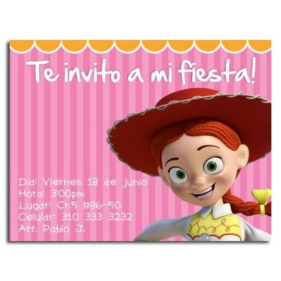 Birthday invitations