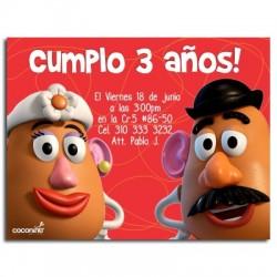 c0052 - Invitaciones de cumpleaños - Toy story.