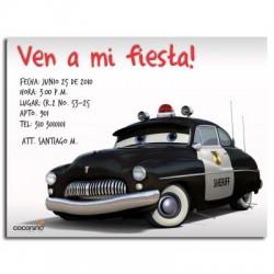 c0059 - Invitaciones de cumpleaños - Cars.