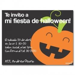 c0086 - Invitaciones de cumpleaños - Halloween.