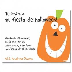 c0088 - Invitaciones de cumpleaños - Halloween.