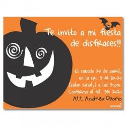 c0091 - Invitaciones de cumpleaños - Halloween.
