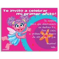 c0100 - Invitaciones de cumpleaños - Abby cadabby