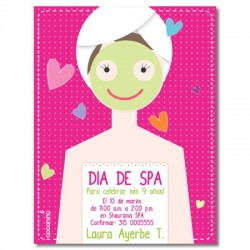 c0104 - Birthday invitations - Spa