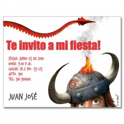 c0128 - Birthday invitations