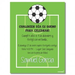 c0170 - Birthday invitations - Soccer 1