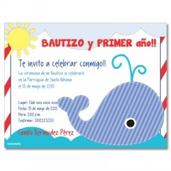 c0178 - Birthday invitations - First year