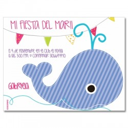 c0211 - Birthday invitations - whale 2