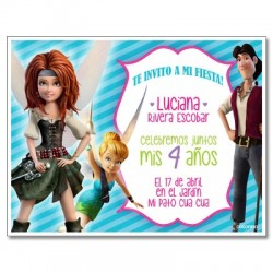 c0272 - Birthday invitations - Fairies