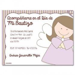 b0065 - Invitaciones - Bautizo