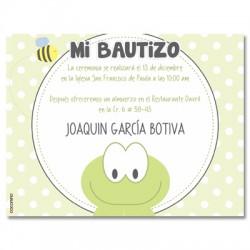 b0086 - Invitaciones - Bautizo