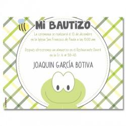 b0087 - Invitaciones - Bautizo