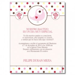 b0088 - Invitations - Baptism