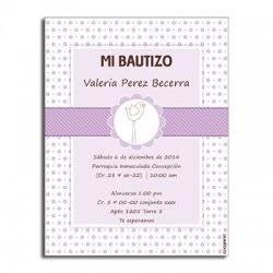 b0091 - Invitaciones - Bautizo