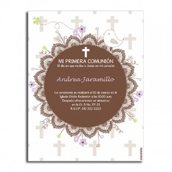 b0093 - Invitations - First communion