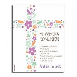 b0095 - Invitations - First communion