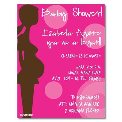 Invitaciones de Shower