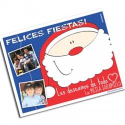 pm0002 - Postal magnética con foto - Navidad