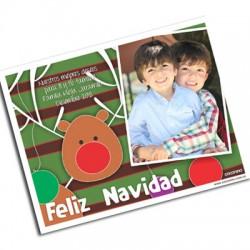 pm0003 - Postal magnética con foto - Navidad