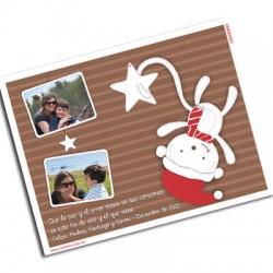 pm0005 - Postal magnética con foto - Navidad