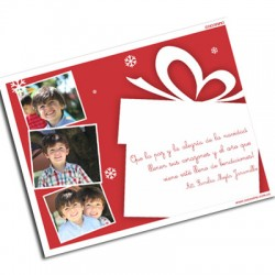 pm0006 - Postal magnética con foto - Navidad