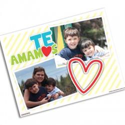 pm0010 - Photo postcard - Heart