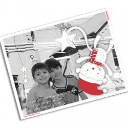 pm0020 - Postal magnética con foto - Navidad