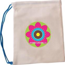 bl0029 - Bolsas de lona - multiproposito - Flores.