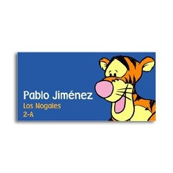 ea0002 - Self-adhesive labels - tigger