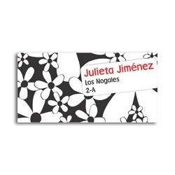 ea0016 - Etiquetas autoadhesivas - Flores