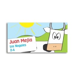 ea0019 - Self-adhesive labels - Cow