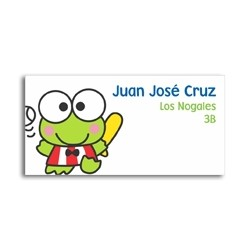 ea0034 - Self-adhesive labels - Keroppi