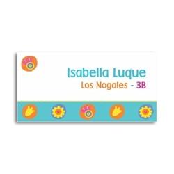 ea0050 - Self-adhesive labels - Flowers
