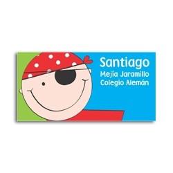 ea0078 - Self-adhesive labels - Pirate