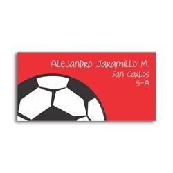 ea0081 - Etiquetas autoadhesivas - Fútbol