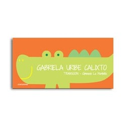 ea0087 - Self-adhesive labels - Crocodile