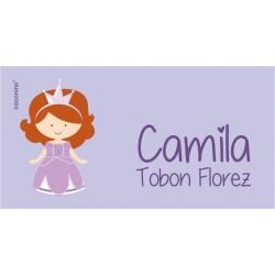 ea0104 - Etiquetas autoadhesivas - Princesa