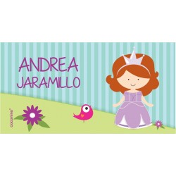 ea0107 - Etiquetas autoadhesivas - Princesa