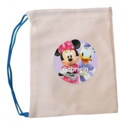 bl0057 - Bolsas de lona - multiproposito - Minnie.