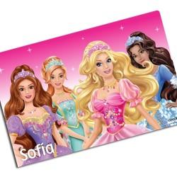 i0037 - Individual de mesa - Princesas