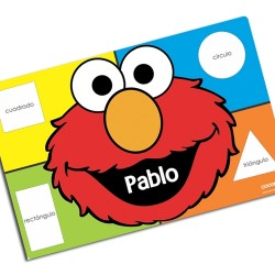i0043 - Individual de mesa - Elmo