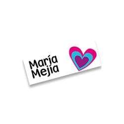 mrt0024 - Marca ropa - Corazones.