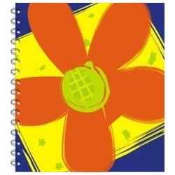 lb0007 - Libretas - Flores.