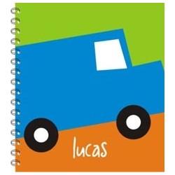 lb0021 - Libretas -  Autos.