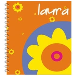 lb0036 - Libretas - Flores.