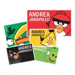 mm0035 - Marca maletas - Angry birds