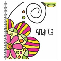 lb0109 - Libretas - Flores.