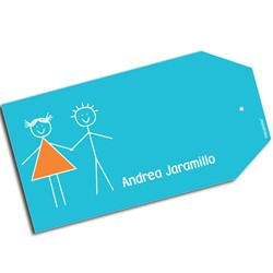 T0008 - Tags para regalos - Hermanos.